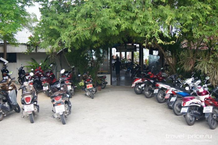 Аренда мопедов на Самуи, а также аварии и ремонт