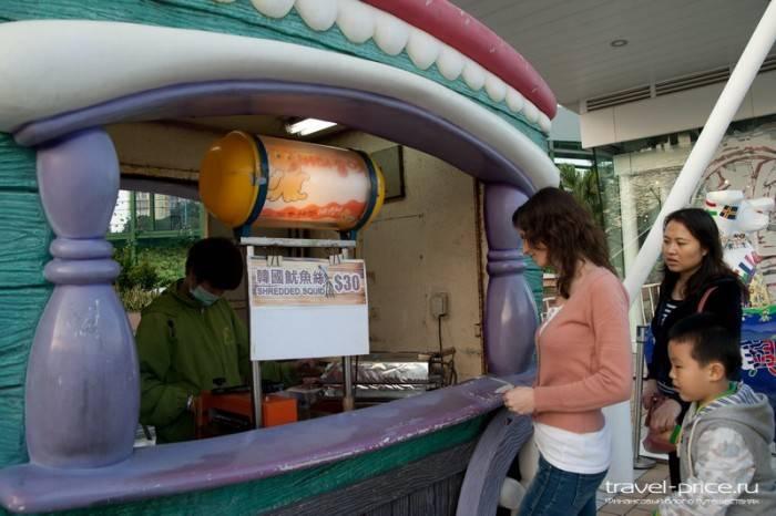 Уличная еда в Гонконге