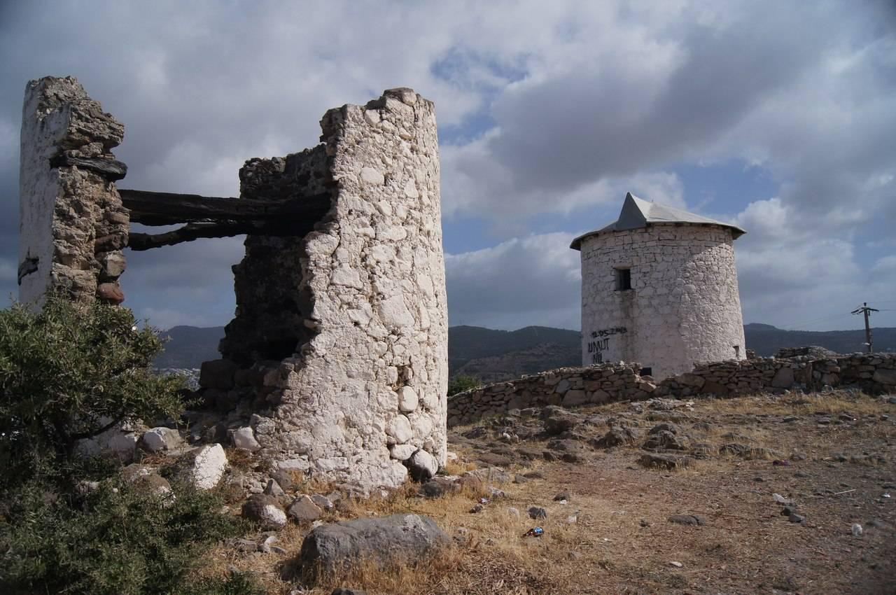 Достопримечательности Бодрума мельницы