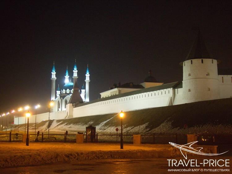 Ночная Казань. Ночь в Казани