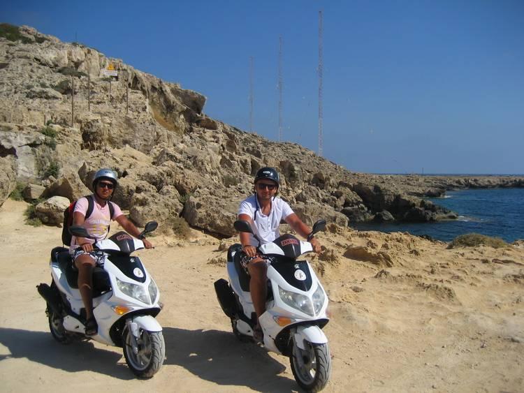 Мопеды на Кипре