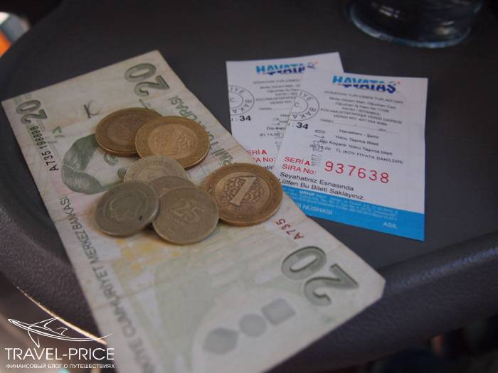 сколько денег брать в Стамбул