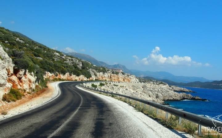 На арендованной машине по Турции: пляж Капуташ и город Каш
