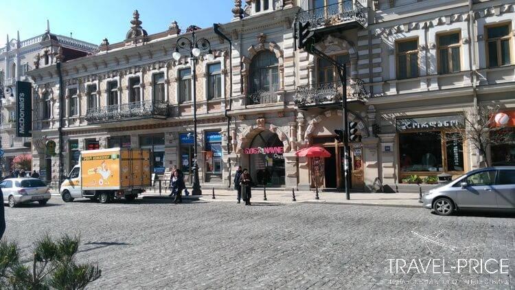 Район Чугурети (метро Марджанишвили)