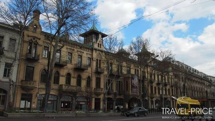 район Мтацминда . Отели Тбилиси