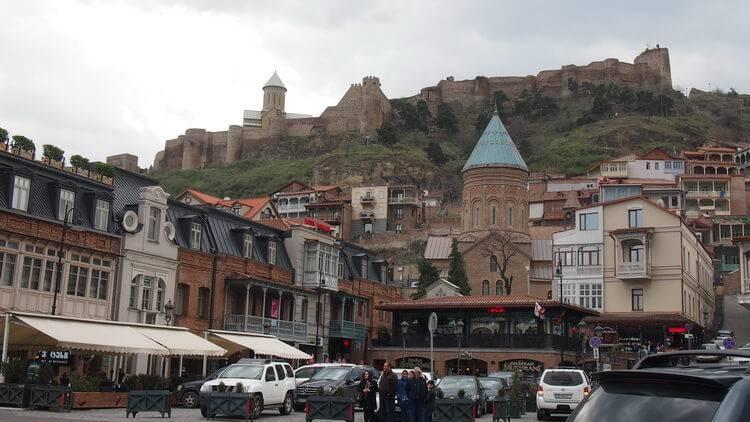 Район Старый город. Отели Тбилиси