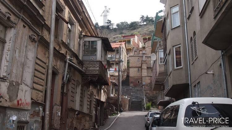 Район Салолаки. Отели Тбилиси