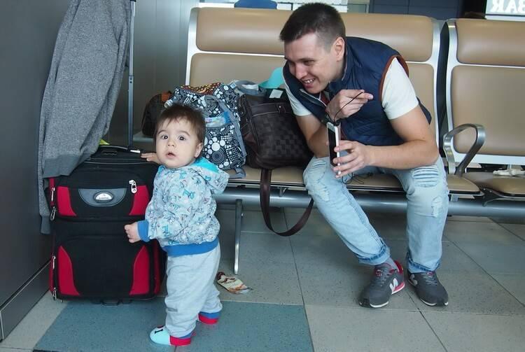 Перелет с ребенком до года