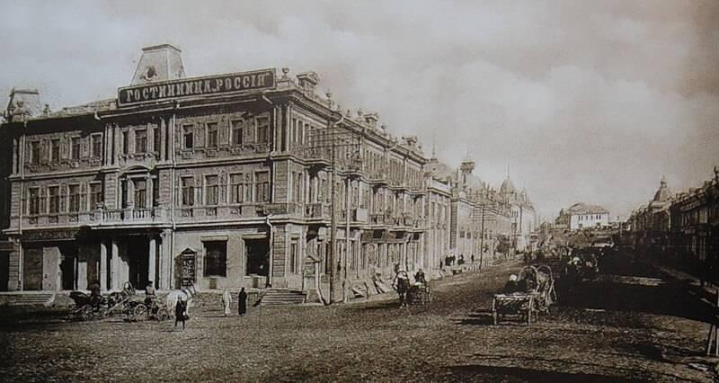 Любинский проспект гостиница Россия