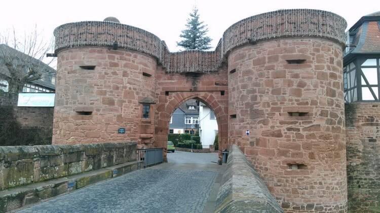 Бюденген город Германии