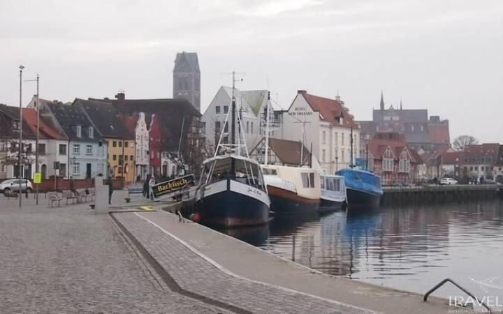 Добрались и до Балтийского моря — портовый город Висмар в Германии