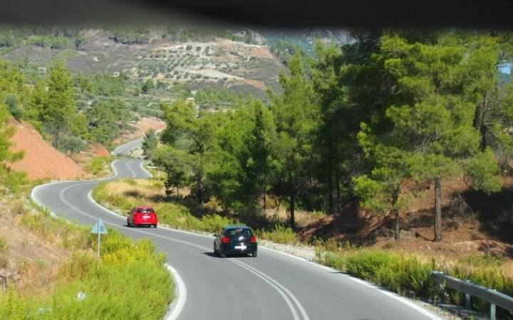 Что посмотреть на острове Родос на машине: маршрут от Линдоса до Родоса