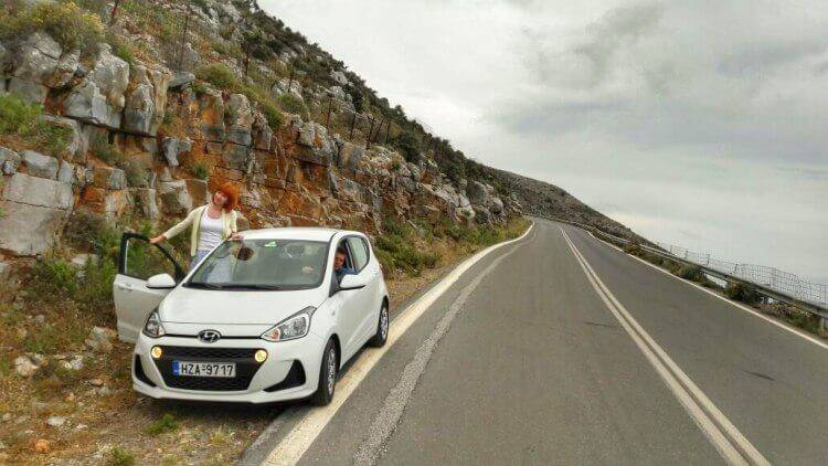 аренда авто на Крите 2017