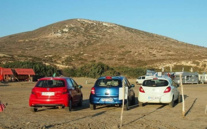 Второй маршрут по острову Родос — от развалин Камирос до пляжа Прасониси