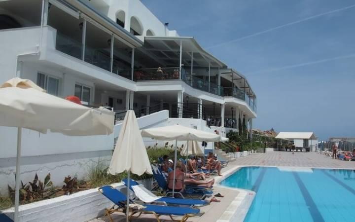 Отель Horizon beach Сrete 4* (Сталида) большой отзыв 2017 года
