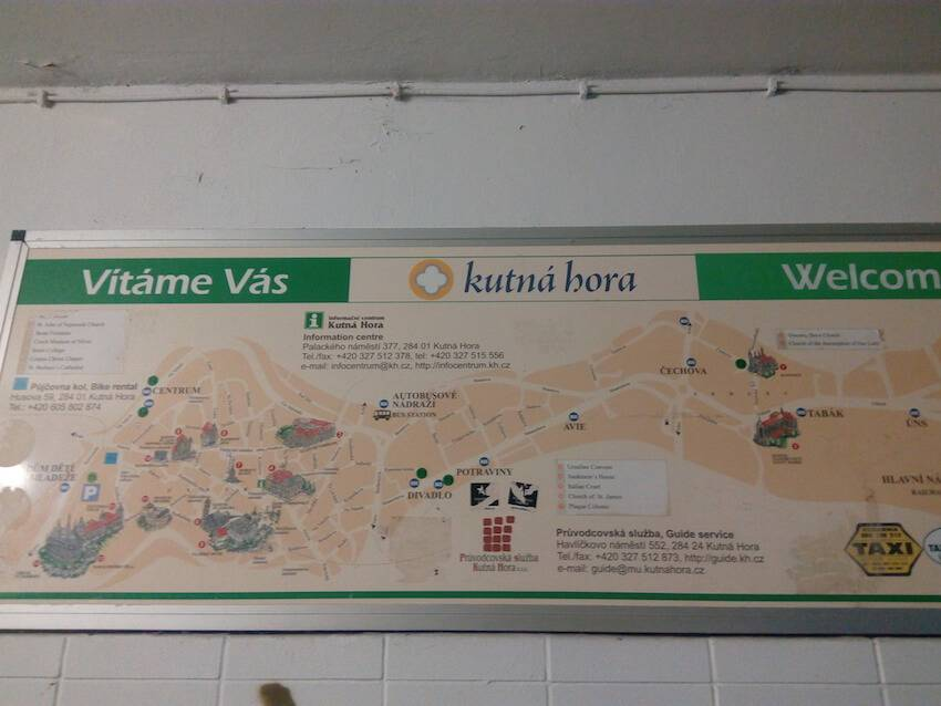 Кутна-Гора старый город
