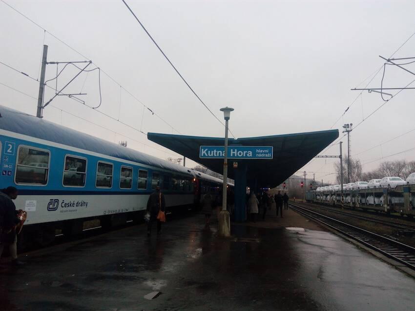 В Кутна-Гора из Праги на поезде