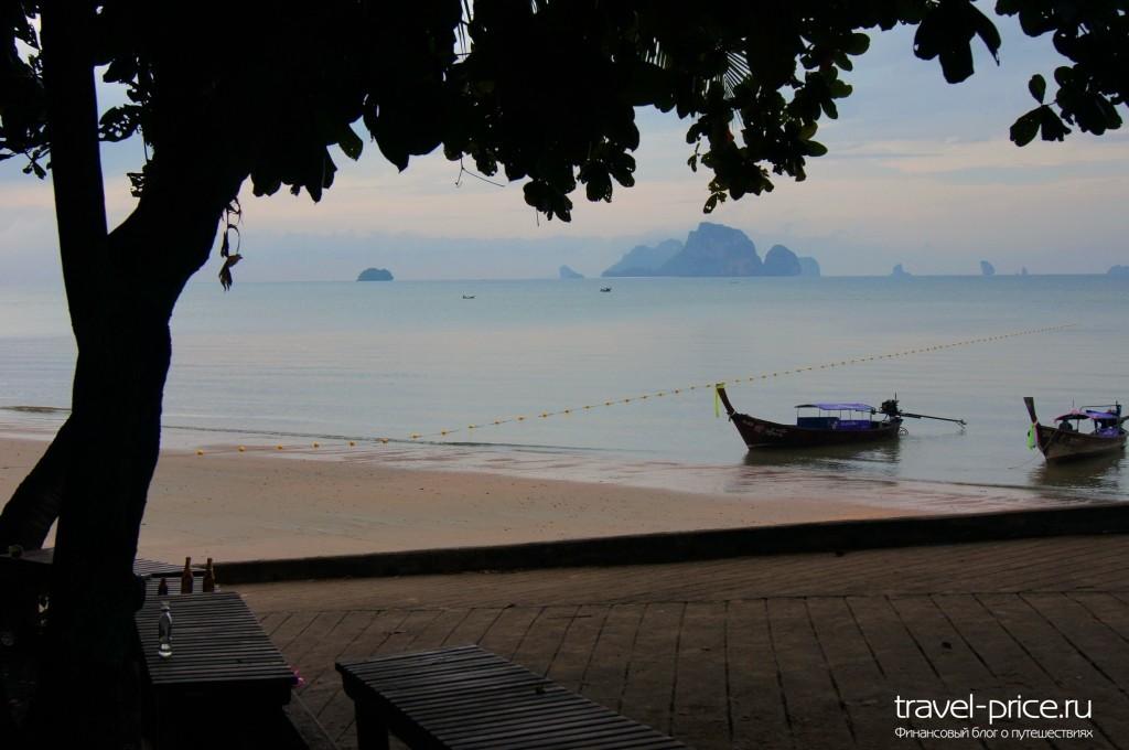 Пляж Ао Нанг, Краби
