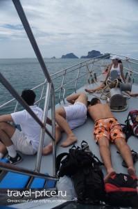 Паром Ао Нанг - остров Ланта
