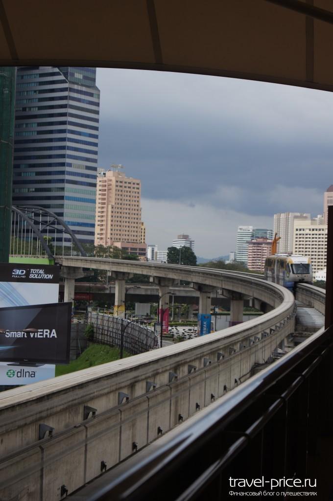 Монорельса Куала-Лумпур Малайзия
