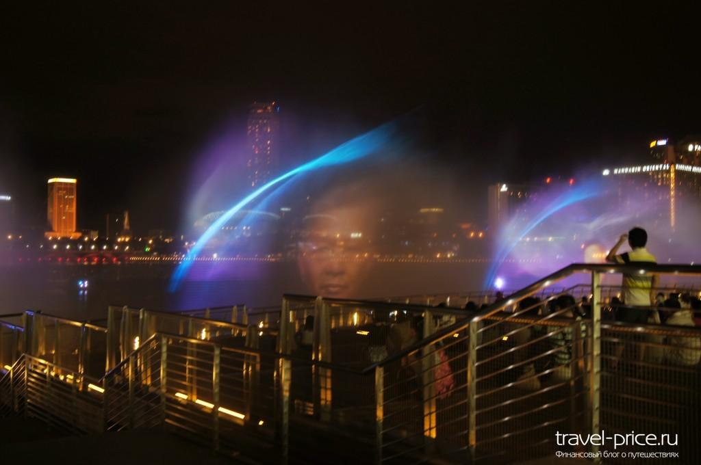 Сингапур поющие фонтаны