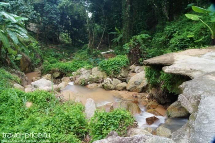 Водопад Khowyai Самуи