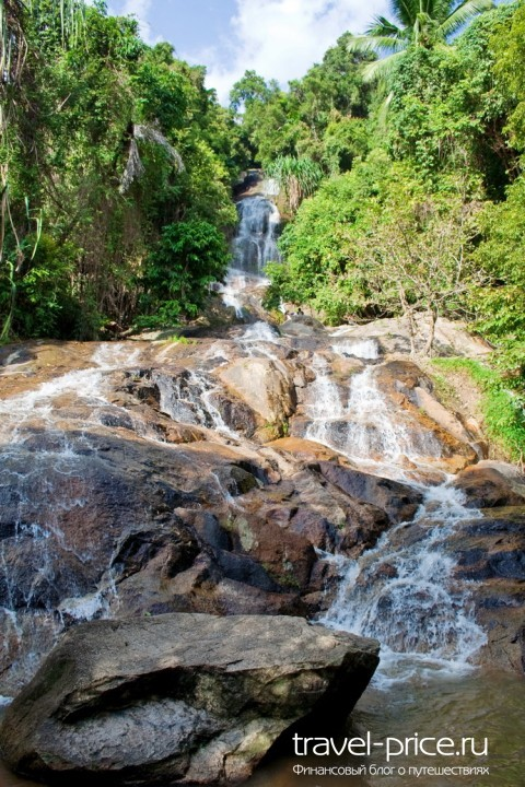 Водопад Namuang, Самуи