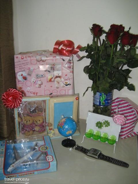 новогодние подарки в Паттайе