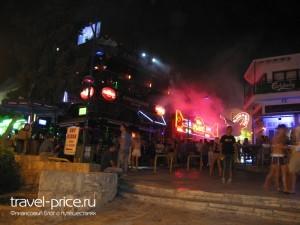 Улица баров, Айя-Напа, Кипр