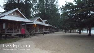 бунгало на пляже Mae Haed остров Панган