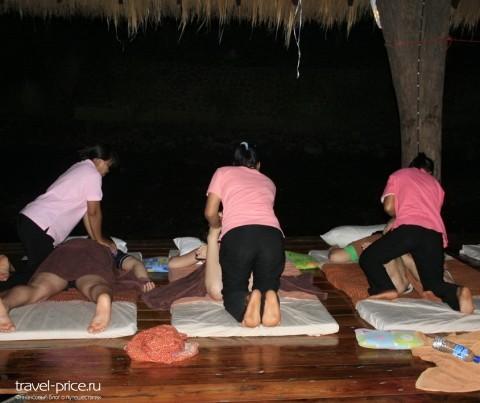 Развод туристов в Таиланде тайский массаж