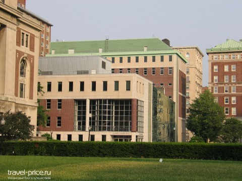 США work and travel Колумбийский университет