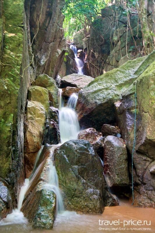 Водопады Самуи: Wat sao thong Waterfall
