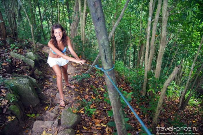 Водопады Самуи: Wang sao thong waterfall