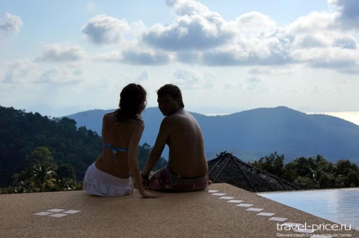 Панорамный бассейн Самуи в ресторане The Mountain Grand View