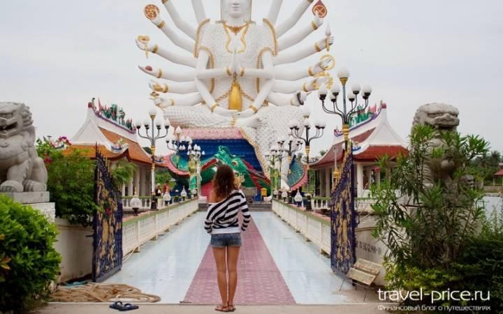 Не религиозный взгляд на буддийские храмы Самуи