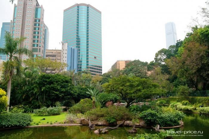 Островок безмятежности в Гонконге: парк Kowloon