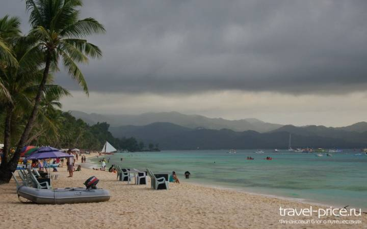 White beach Boracay – главный пляж острова Боракай