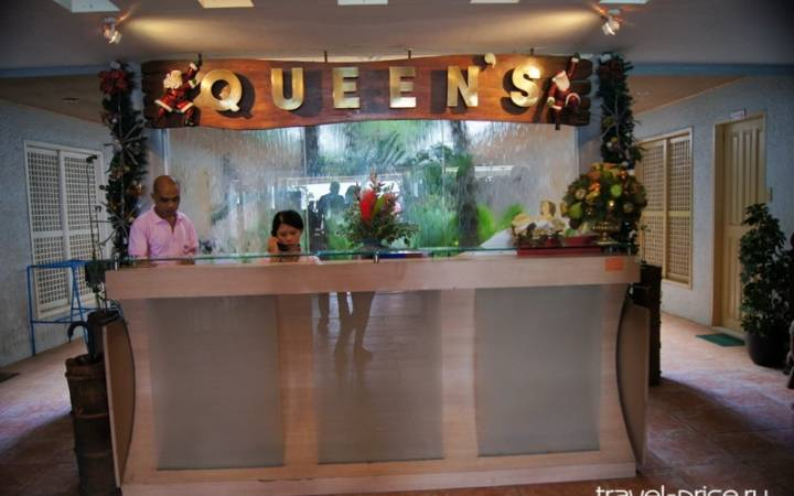 Queens Beach Resort – наш отель на острове Боракай