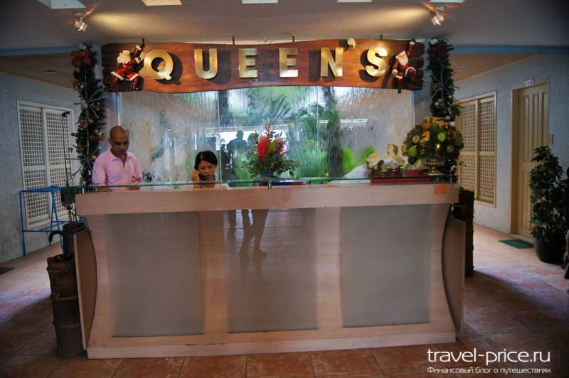 Queens Beach Resort отель Боракай