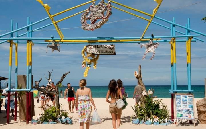 Пляжи острова Боракай: Puka beach