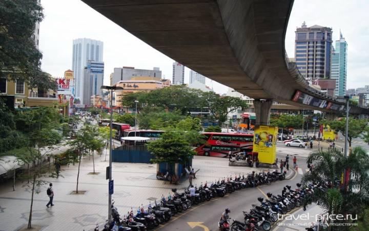 Наш очередной хостел в Куала Лумпур
