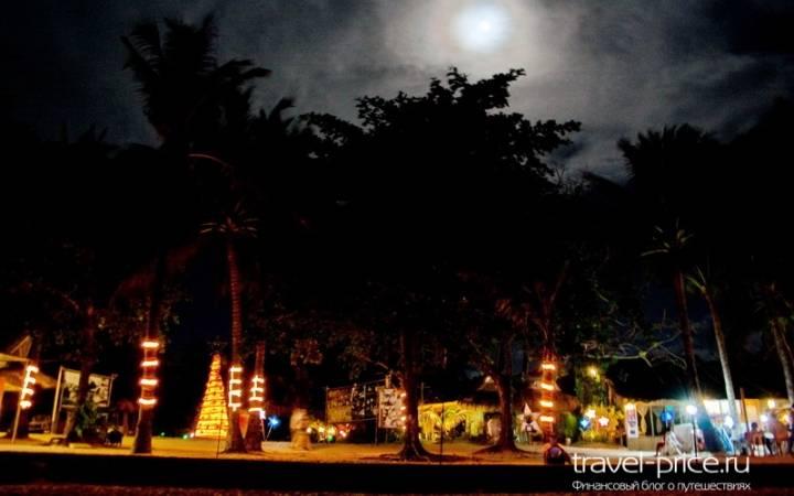 Ночная жизнь острова Боракай