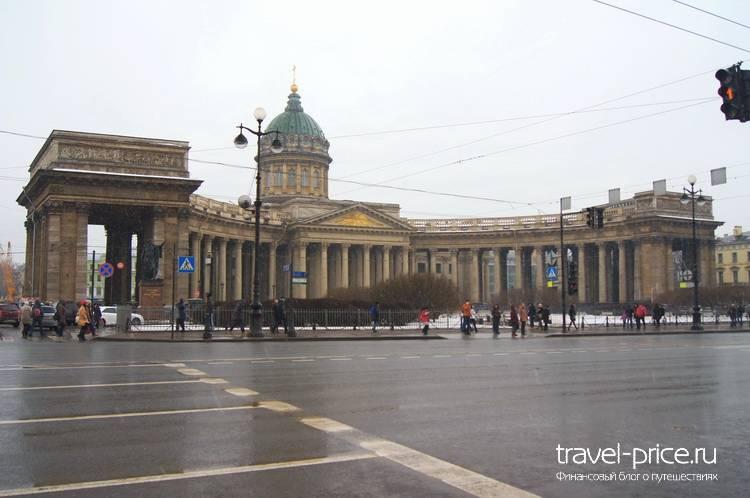 Маршрут по Санкт-Петербургу зимой