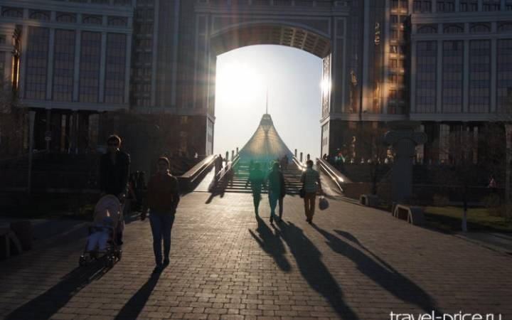 Омск-Астана на машине: сложно, но нужно)