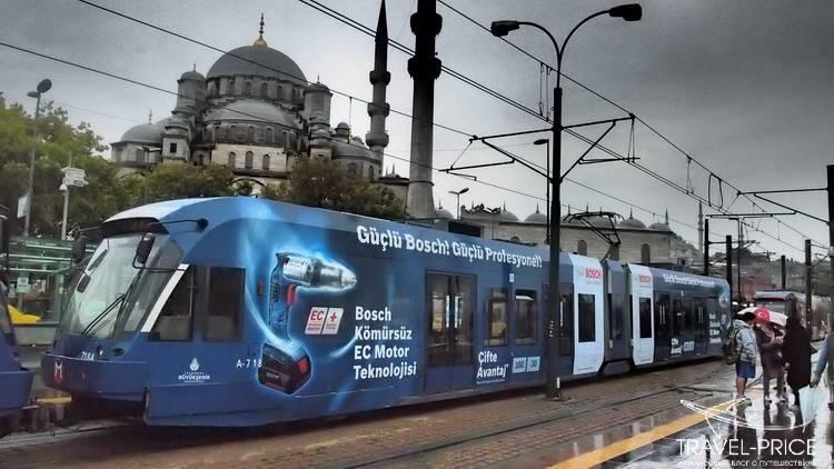 расходы на транспорт в Стамбуле