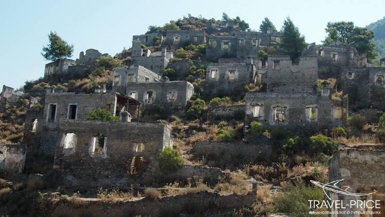 Заброшенная деревня Каякей Турция
