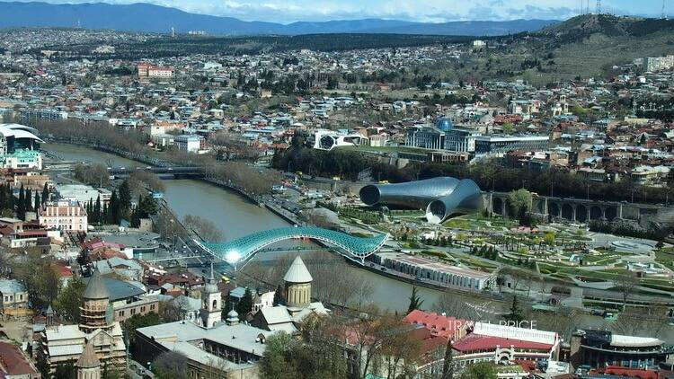 Маршрут прогулки по Тбилиси