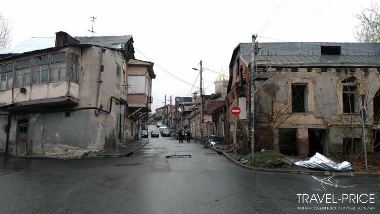 Район Авлабари. Отели Тбилиси