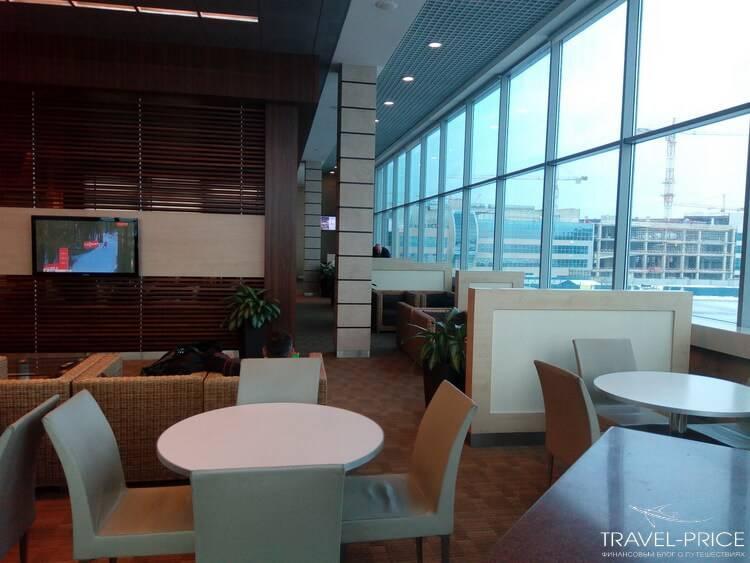 Бизнес-зал Priority Pass в аэропорту Домодедово